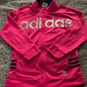 Adidas Hot Pink Tracksuit